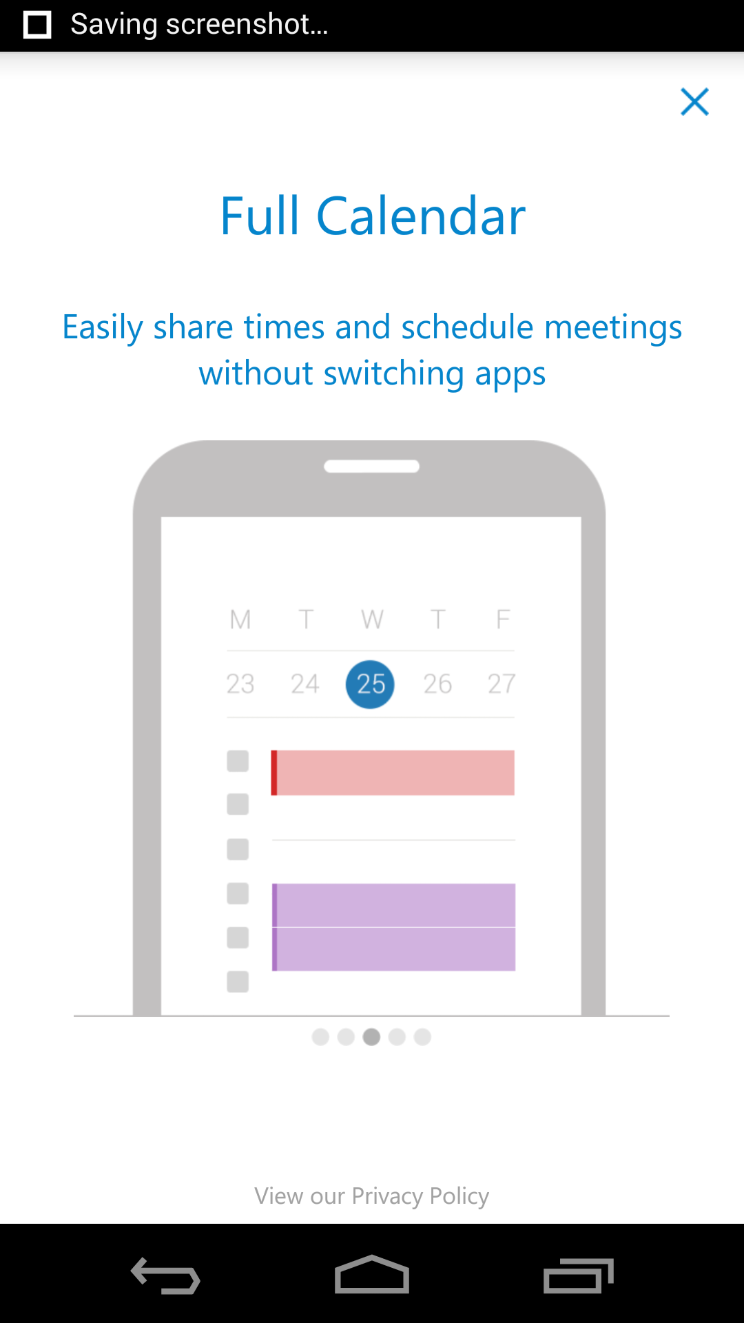 how to cancel a meeting in outlook android