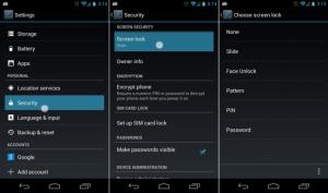 android-lockscreens