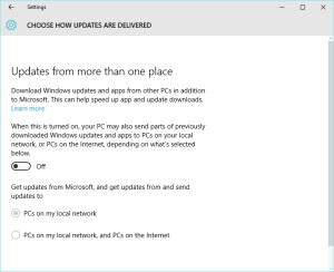 W10 Updates